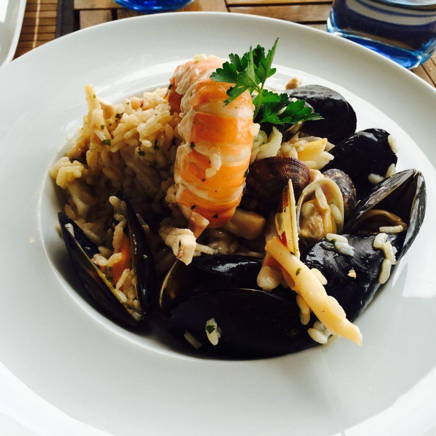 Shrimp, Mussels at Il Pirata