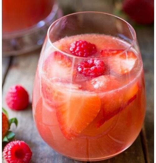 Strawberry Rose Sangria