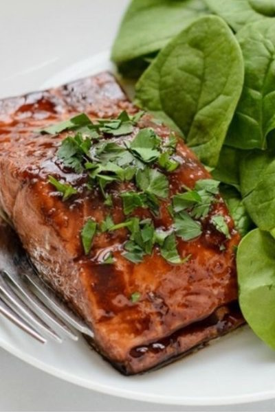 Balsamic Glaze Salmon