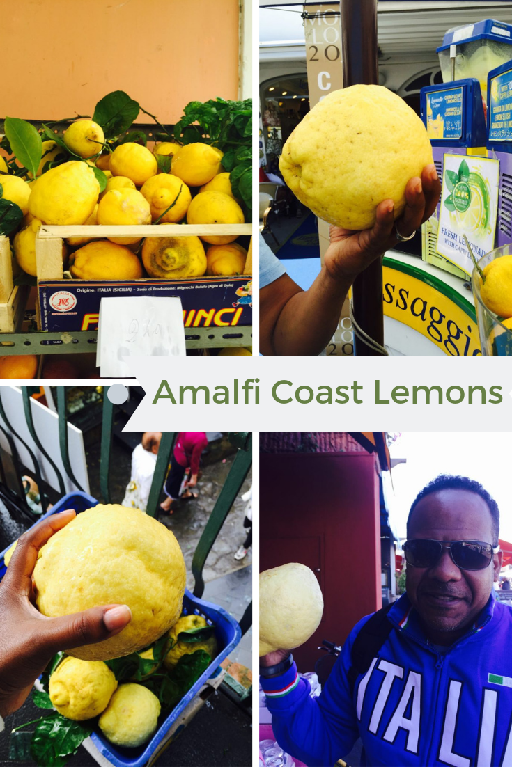 Lemons on Amalfi Coast | Sorrento to Capri