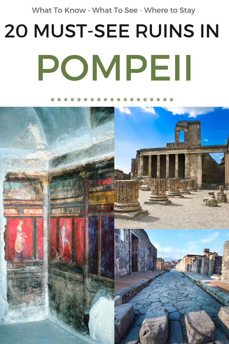 Must See Ruins in Pompeii