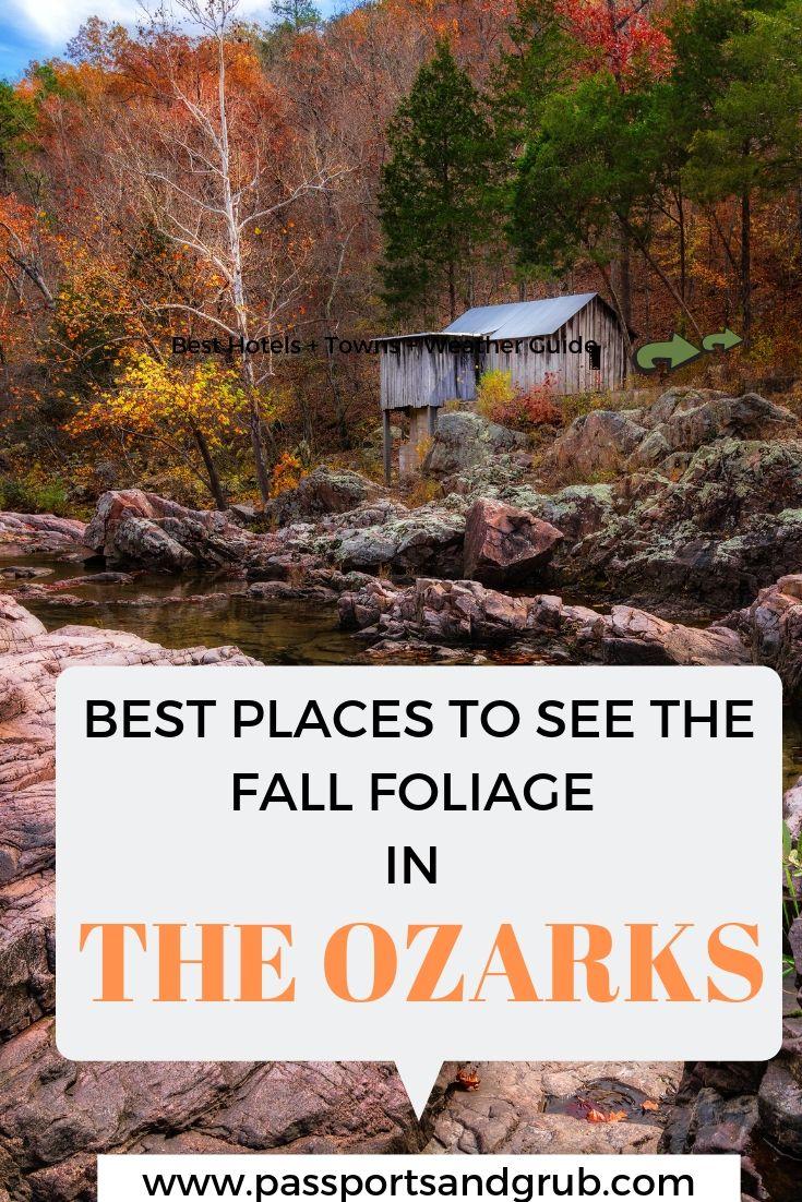 Fall Foliage in Ozarks