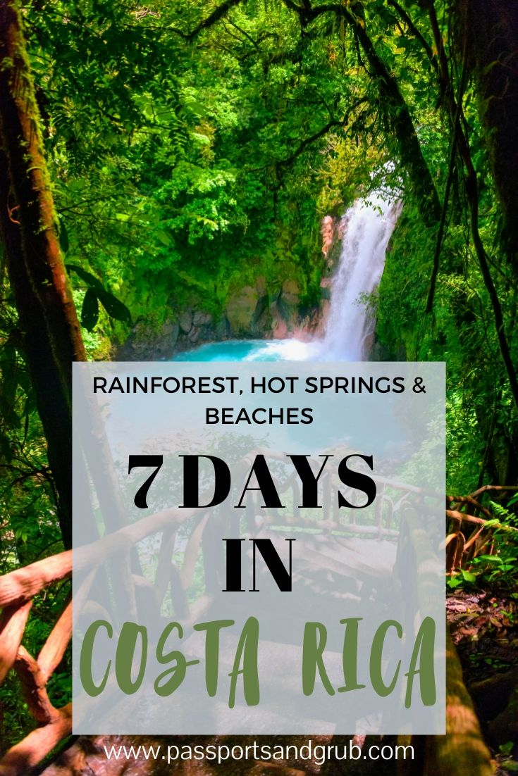 7 DAYS IN COSTA RICA