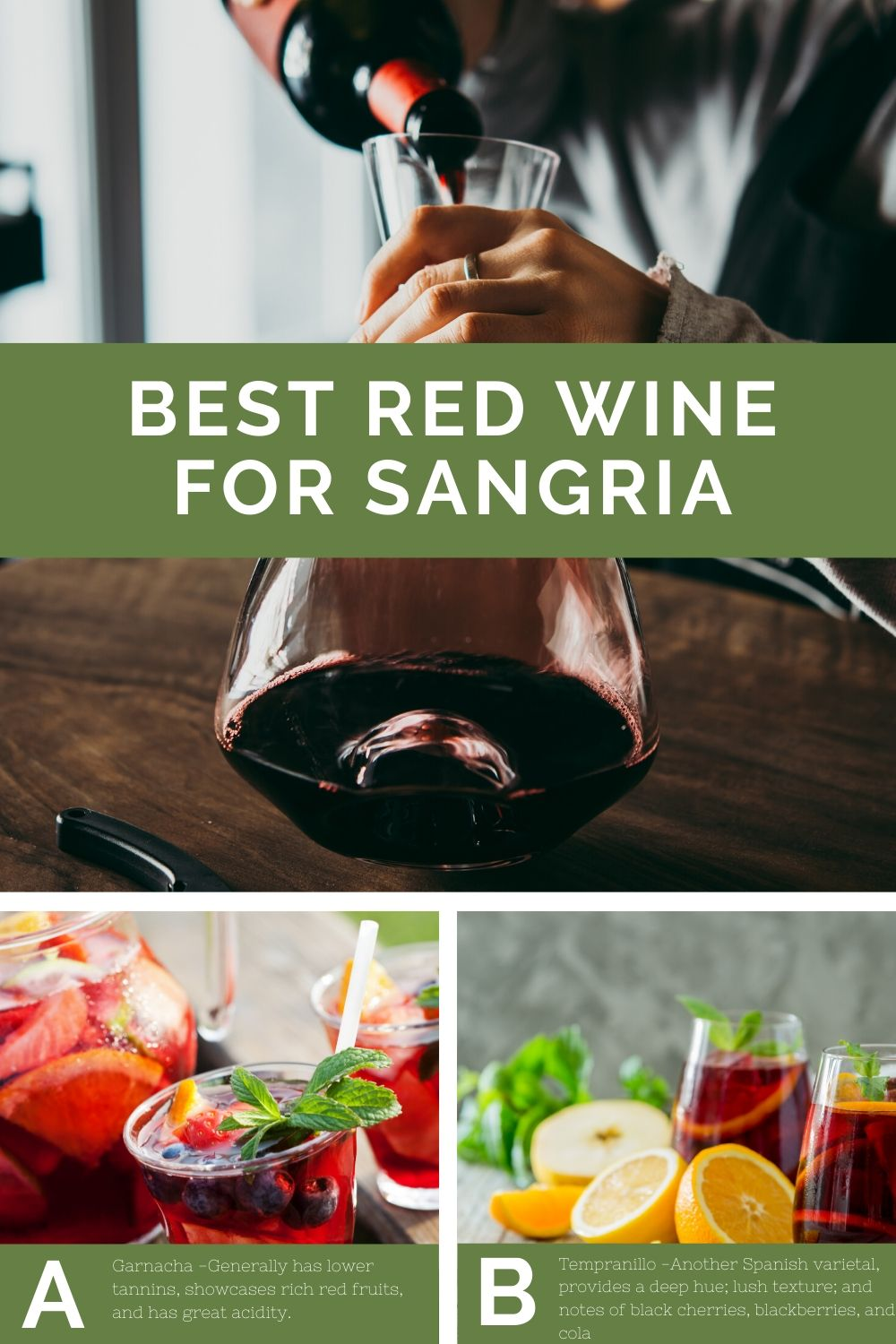 Best Red wine for Sangria