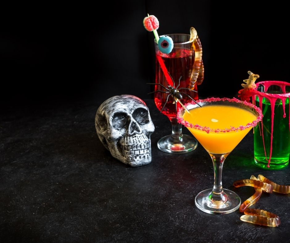 Rooster Skull Cocktail