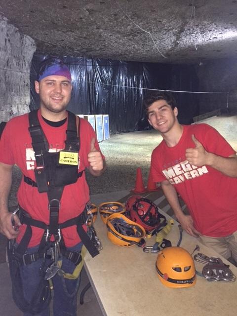 Underground Ziplining