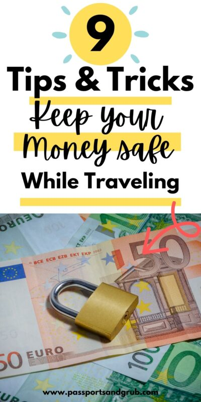 Keep your money safe pinterest graphic