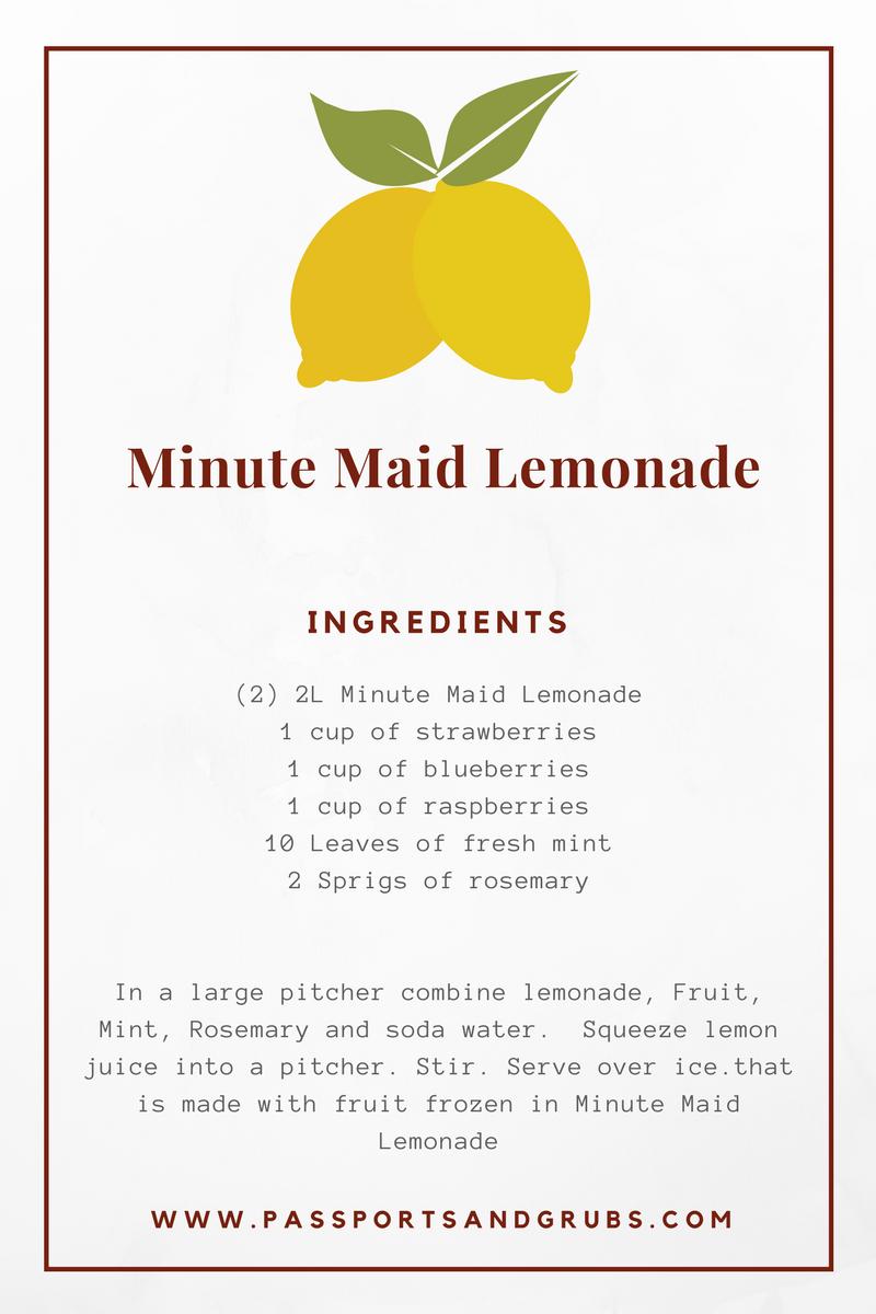 Minute Maid Lemonade Stand