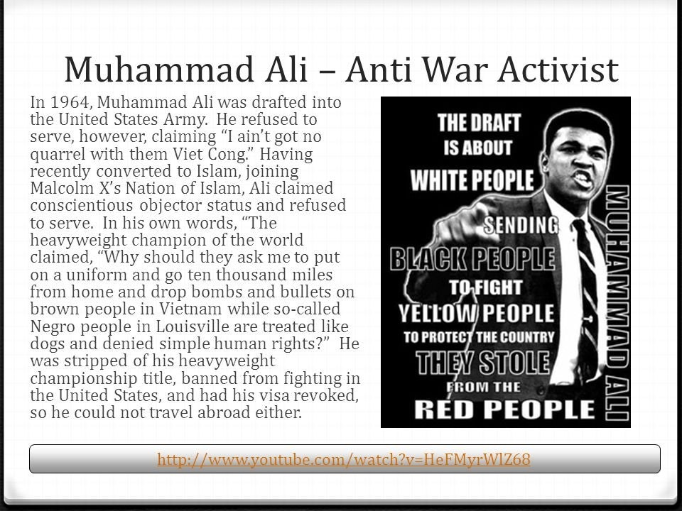 Relationship Between Sports and Politics | News article of Muhammad Ali
