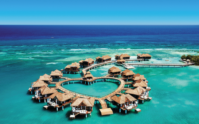 209149ed082e2 Sandals Overwater Bungalows in Jamaica