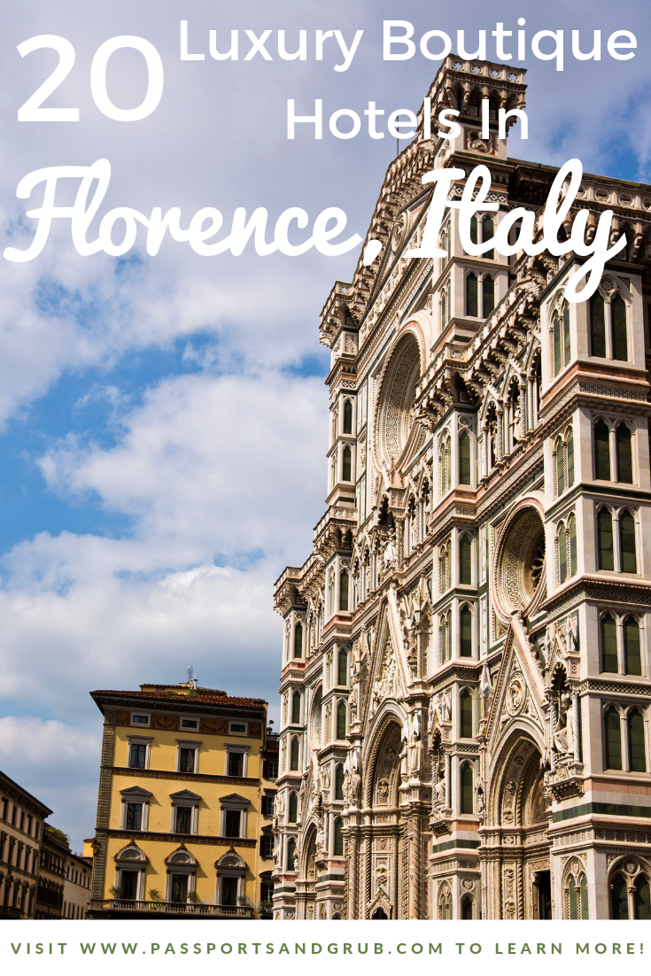 20 luxury hotels in Florence