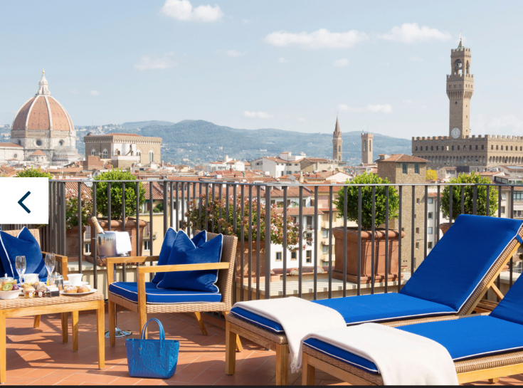 Hotel Continentale Florence - 4 star Design Hotel Florence, Italy