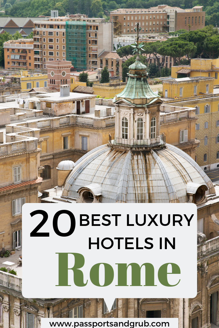 20 Best Hotels in Rome