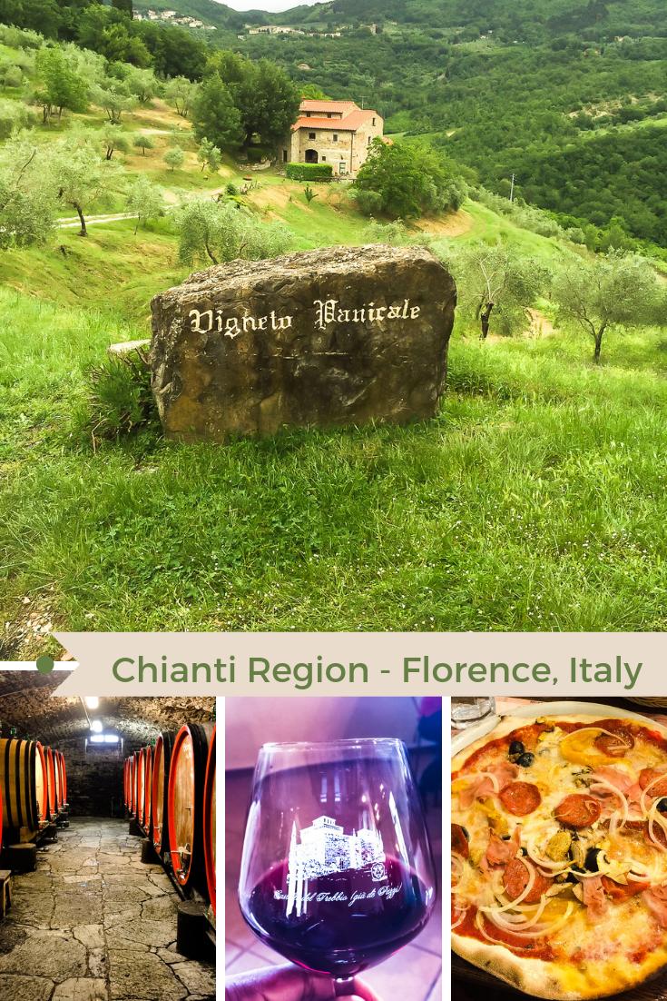 Chianti Region of FLorence Italy