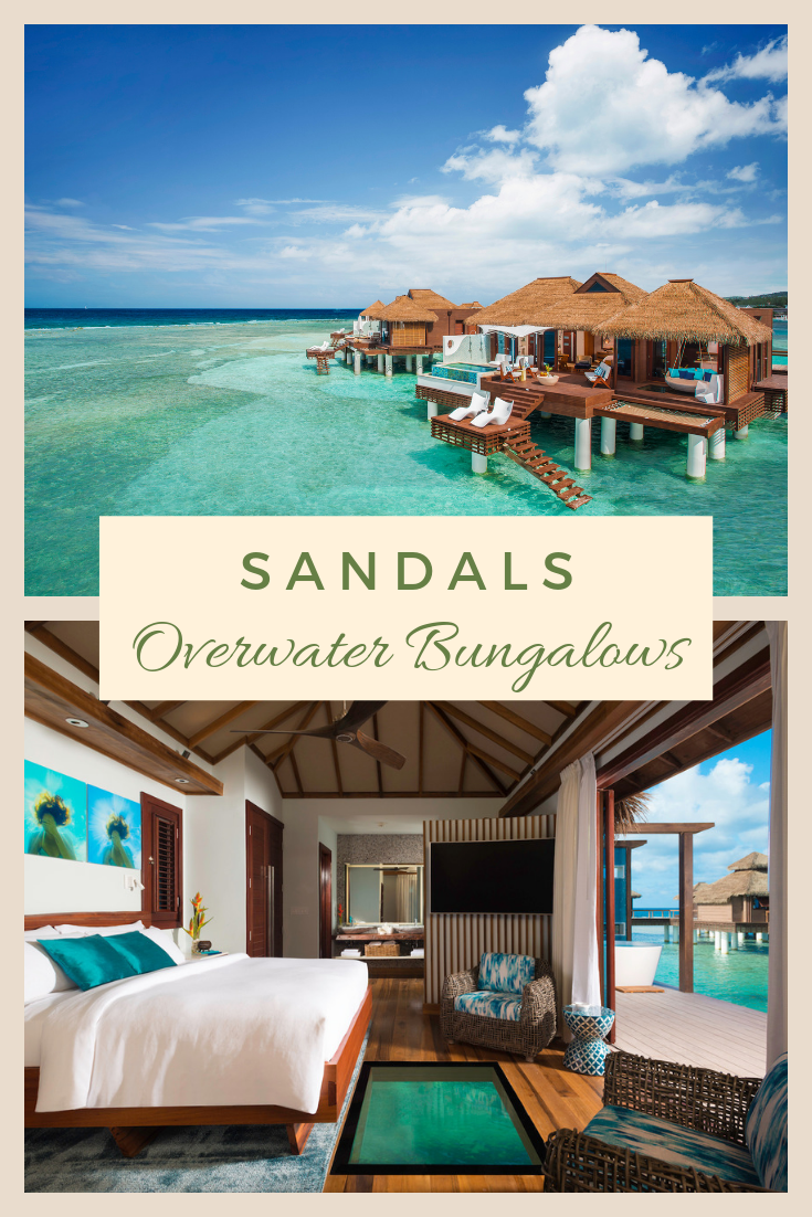 Overwater Bungalows in Jamaica
