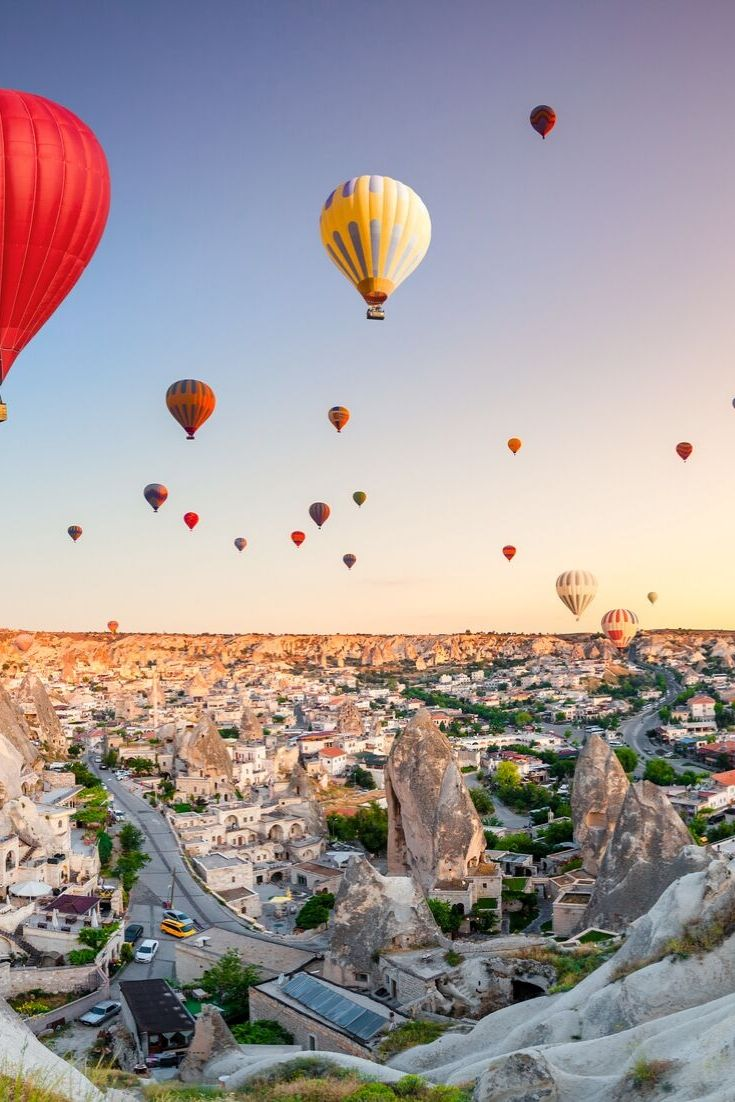 Cappadocia Turkey - Hot Air Ballon