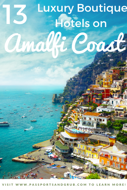 13 Best Luxury hotels - Amalfi Coast