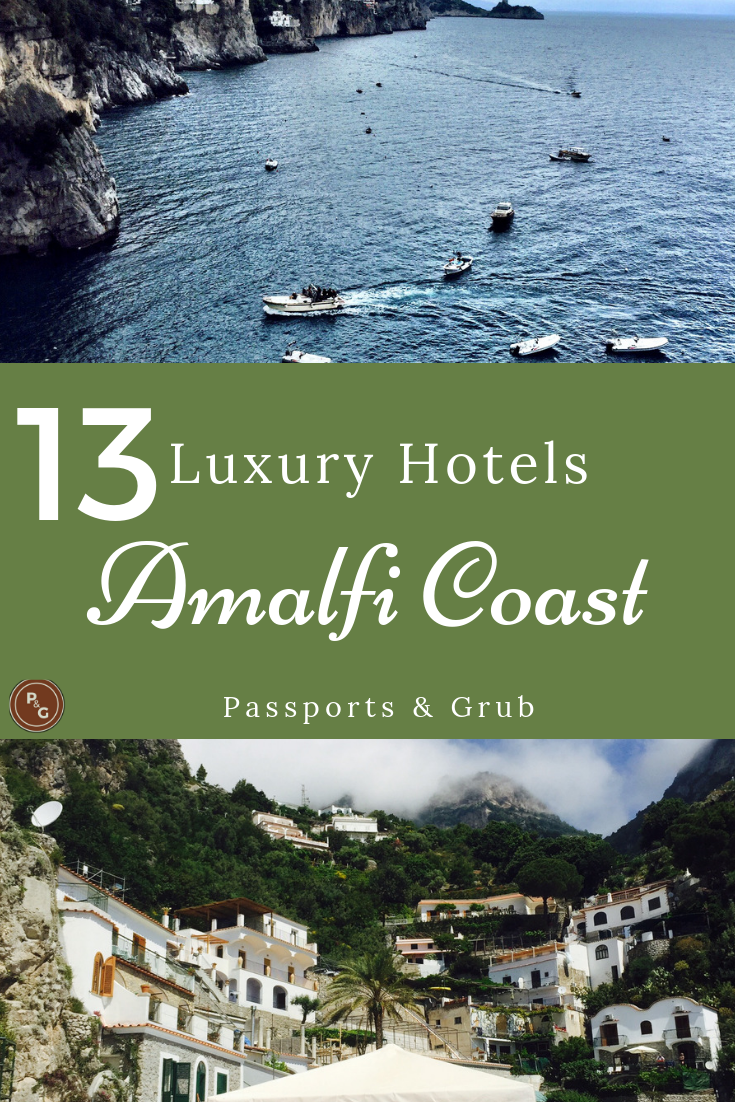 Luxury hotels on the Amalfi Coast