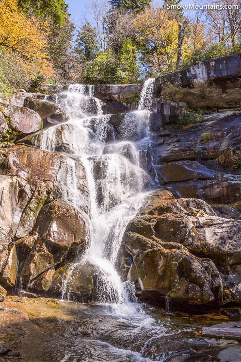 Ramsey Cascades Trail in the Smoky Mountains