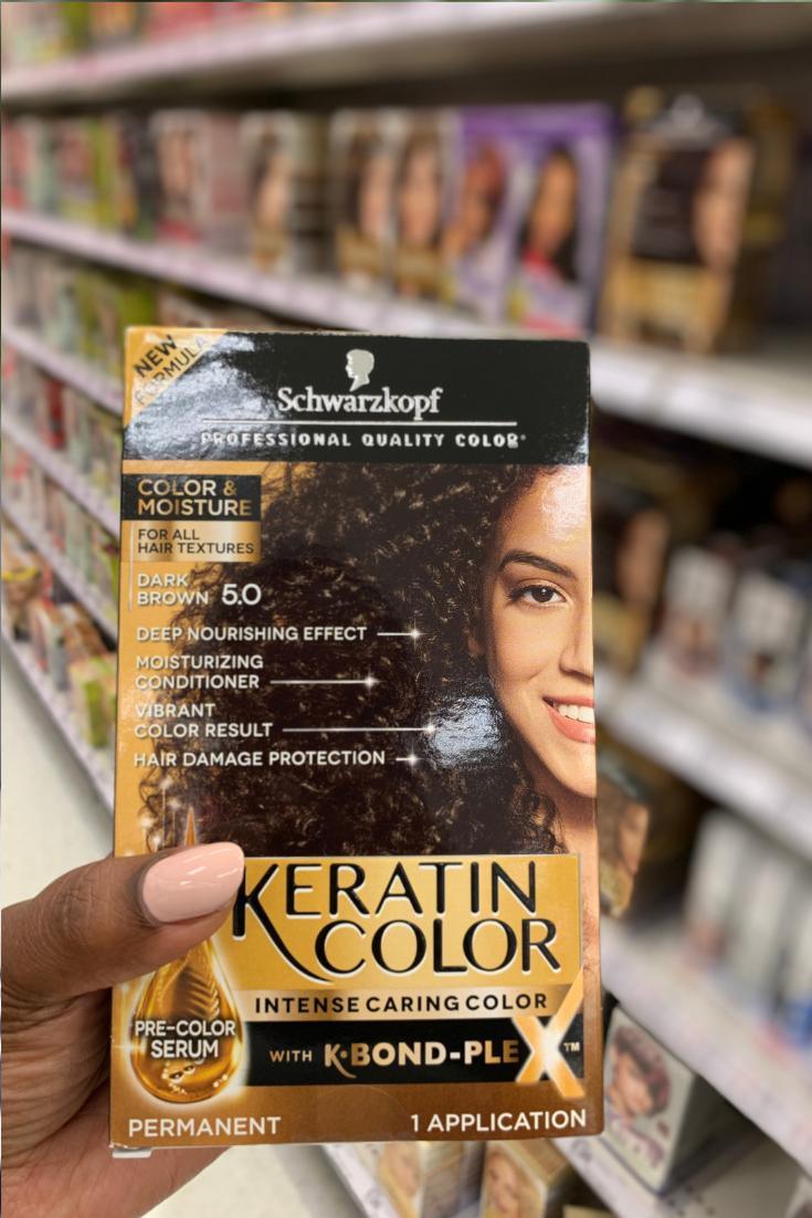 Schwarzkof Keratin Hair Color- Target
