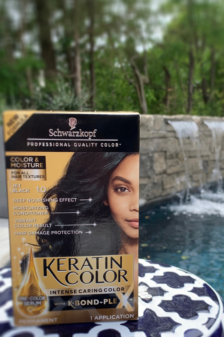 Schwarzkopf Keratin Color + Moisture hair color