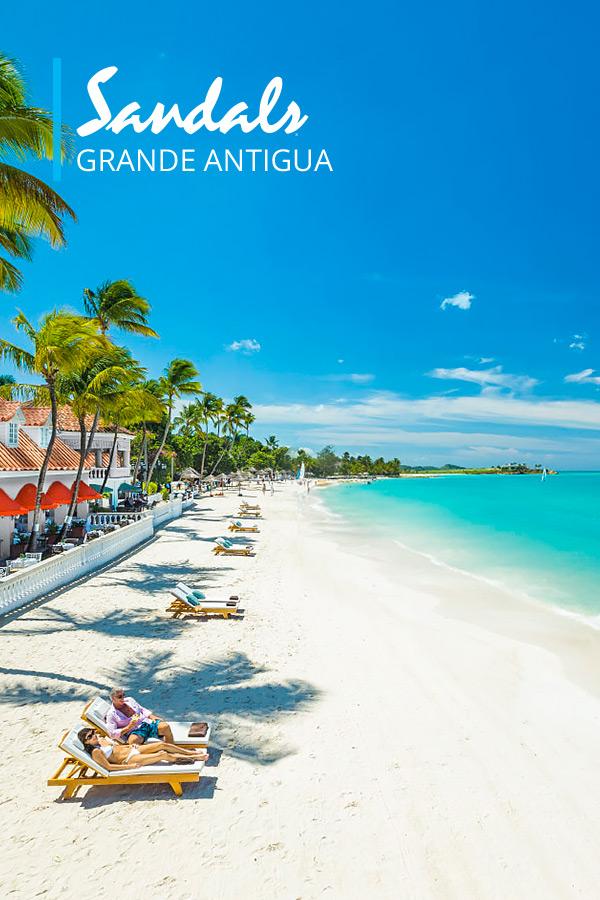 Sandals Grande Antigua Luxury Resort in St. Johns