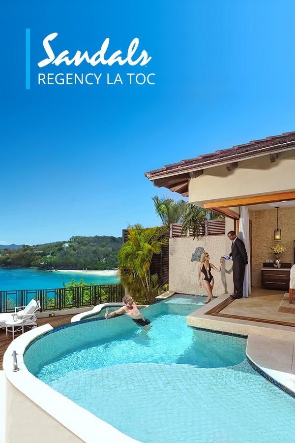 Sandals Regency La Toc Luxury Resort in Castries, St. Lucia
