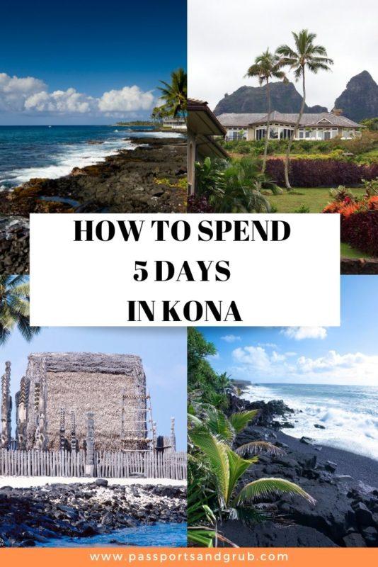 kona, hawaii things to do in