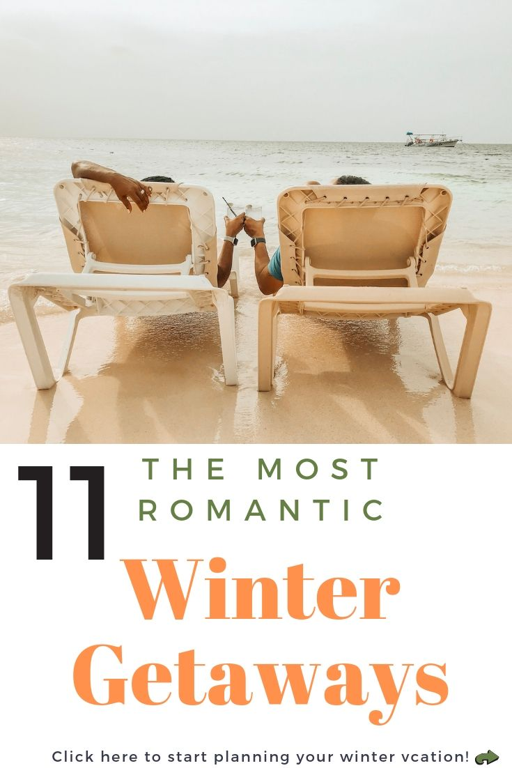 Romantic winter getaways