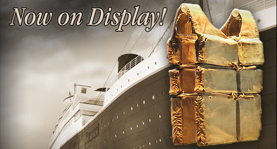Welcome Aboard Titanic Museum Attraction in Pigeon Forge, TN