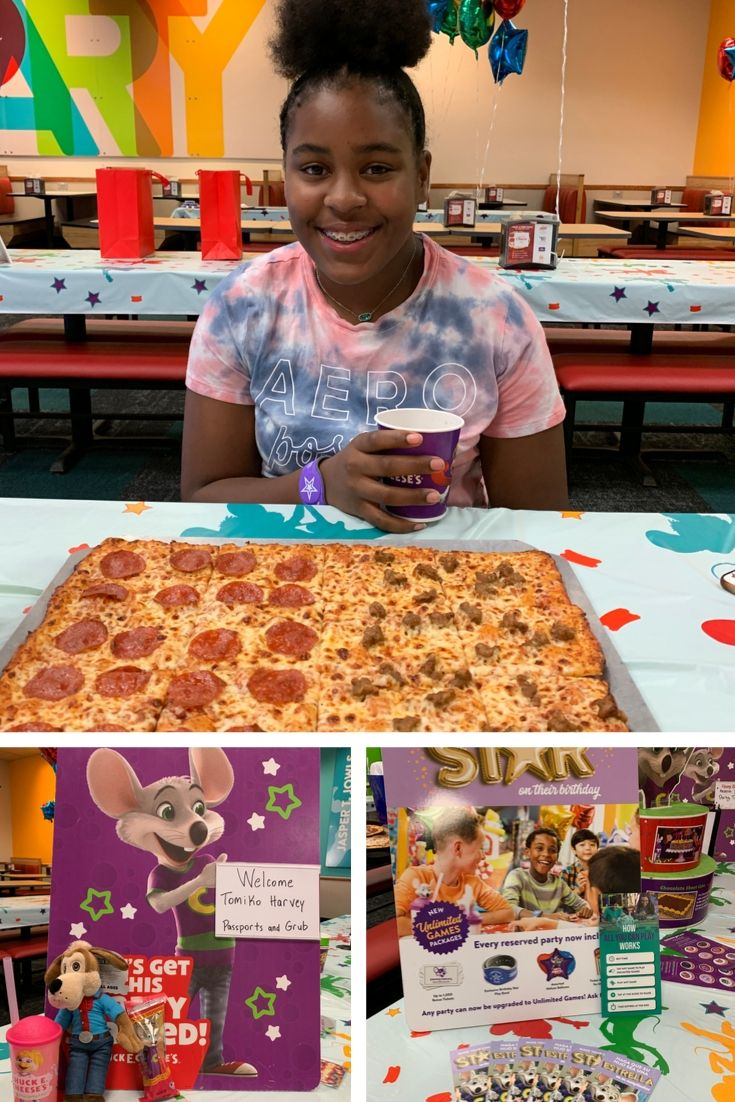 Chuck E. Cheese Grand Opening