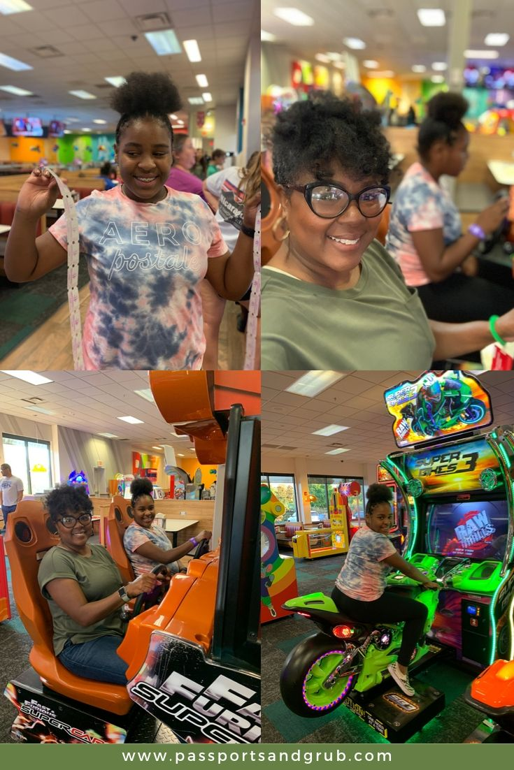 Mother/Daughter day at Chuck E. Cheese