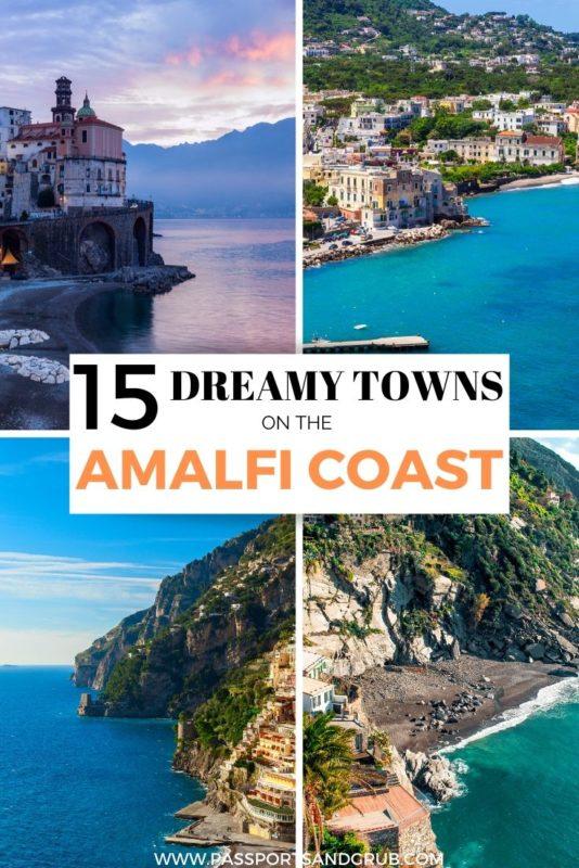 Best towns on Amalfi Coast
