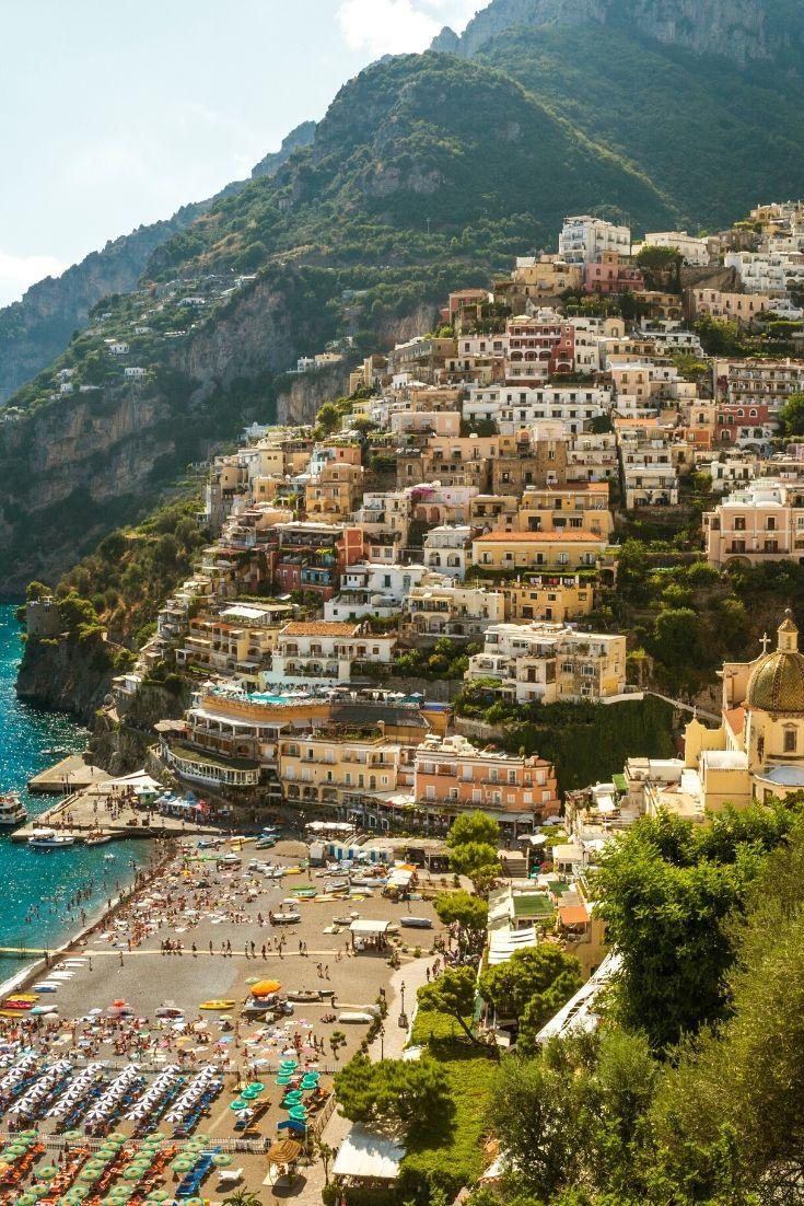 Towns on Amalfi Coast