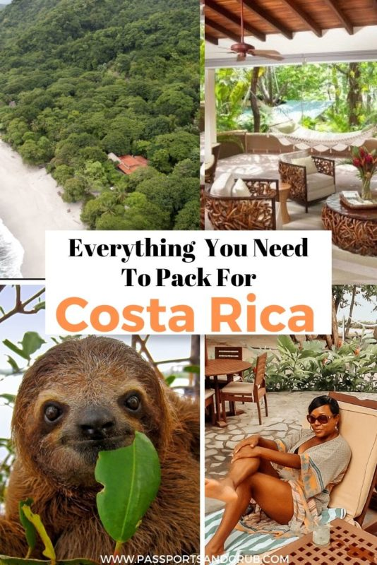 What To pack For Costa Rica - Packing List