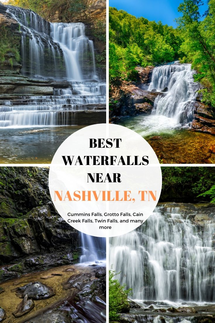 Best waterfalls near Tennessee
