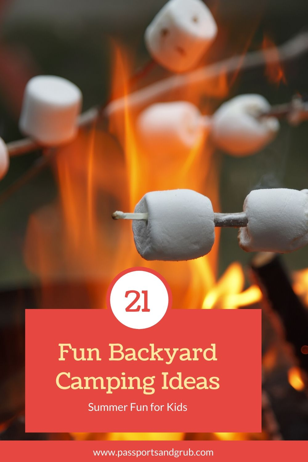Backyard Camping Ideas for the kids