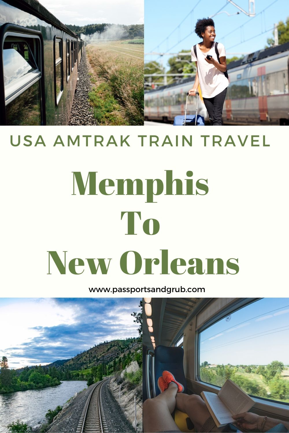 Train travel - Memphis to New orleans