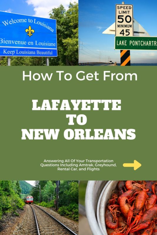 Lafayette to New Orleans