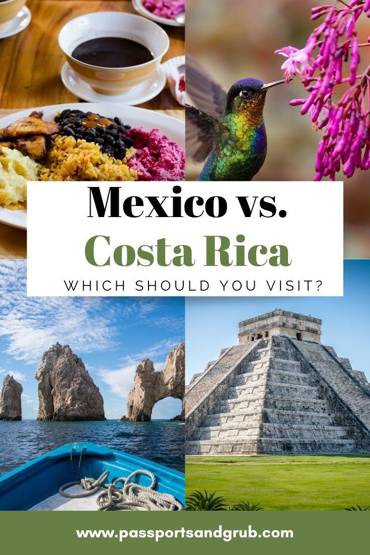 Mexico - Costa Rica Travel Guide