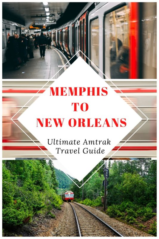 Amtrak Memphis to New Orleans