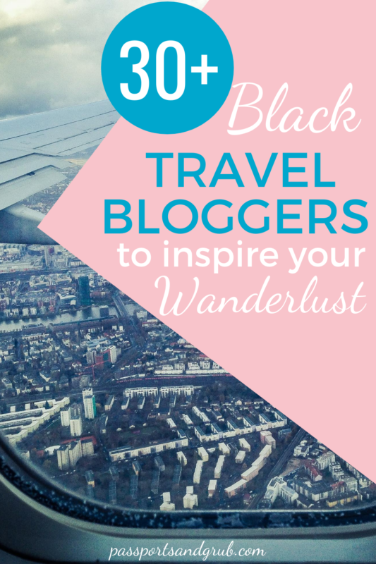 black travel bloggers